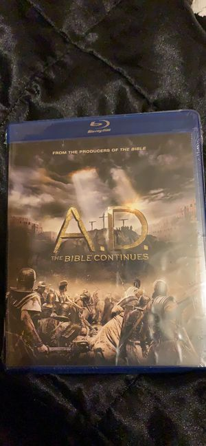 A.D. The Bible Continues 4 disc set Blu-ray for Sale in Avis, PA