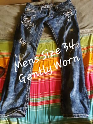 Mens Rock Revival Jeans for Sale in Waynesville, MO