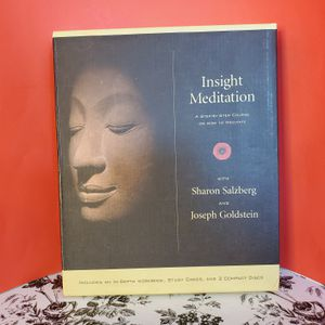 Insight Meditation Kit by Sharon Salzberg and Joseph Goldstein 2002 for Sale in Palm Bay, FL