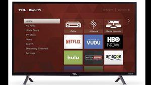 32 inch TCL Roku Smart HD TV Wi-Fi HDMI $115 obo for Sale in Anaheim, CA