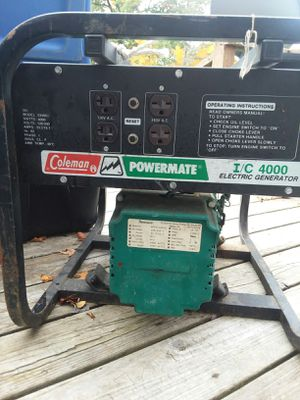 Coleman generator for Sale in Lake City, MI