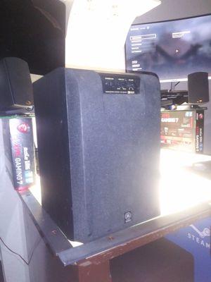 Yamaha yst-sw45 Subwoofer Speaker Powered System +2 Bose Speakers for Sale in Largo, FL