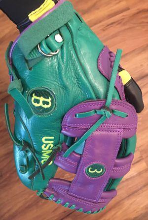 100% Leather Custom USMC Baseball/Softball Fielders Glove for Sale in Tustin, CA