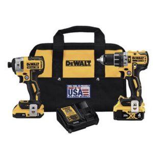 DEWALT DCK287D1M1 Hammer Drill/ Impact driver Combo for Sale in Miami, FL