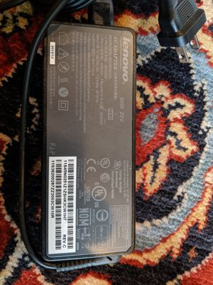 Lenovo laptop power adapter 90w for Sale in North Potomac, MD