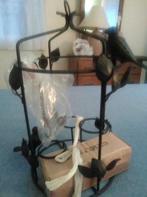 Bird cage candle holder. for Sale in Lakehurst, NJ