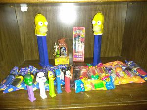 Pez Collection Homer Simpson NASCAR StarWars Disney for Sale in Portland, OR