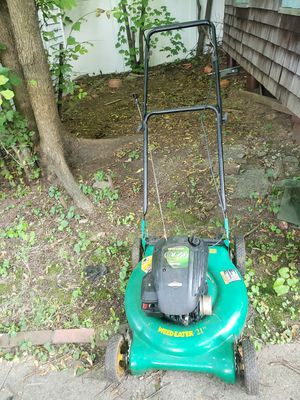 Briggs and Stratton Lawn mower Weed eater for Sale in Everett, MA