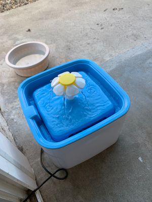 Cube flower Cat fountain for Sale in Bonita, CA