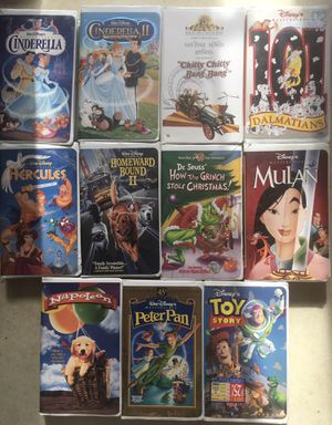 DISNEY MOVIES - for Sale in Peoria, IL