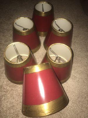Chandelier light shades for Sale in Reston, VA