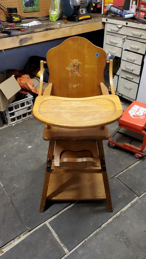 Antique high chair/desk for Sale in Lacey, WA