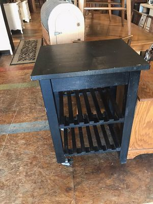 Rolling kitchen island table for Sale in San Diego, CA