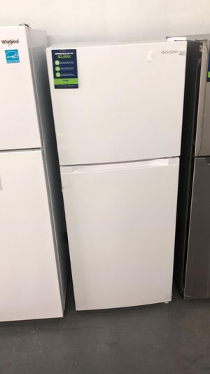 New Insignia Top Freezer Refrigerator - White / Different capacities Available for Sale in Houston, TX