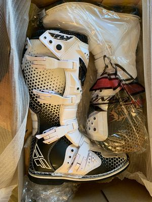 Fly Racing Dirt Bike Boots Brand New size 8 for Sale in West Covina, CA