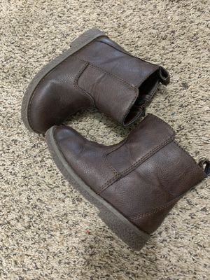 gap brown moto boots for Toddler for Sale in Aurora, CO