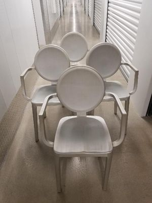 Modern brushed aluminum chair for Sale in Miami Beach, FL