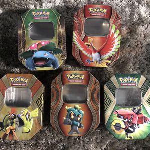 EMPTY Pokémon Tins for Sale in South El Monte, CA