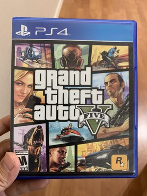 PS4 GTA 5 for Sale in Chandler, AZ