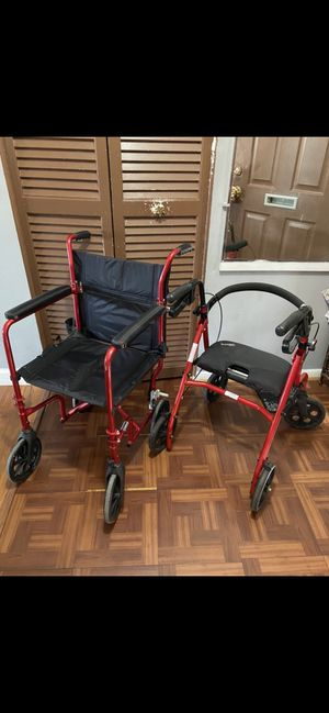 DRIVE Wheelchair and Walker - $65 each for Sale in Silver Spring, MD