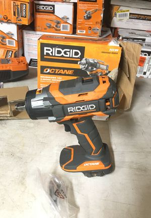 RIDGID 18-Volt OCTANE Cordless Brushless 1/2 in. Impact Wrench (Tool Only) with Belt Clip for Sale in Fontana, CA