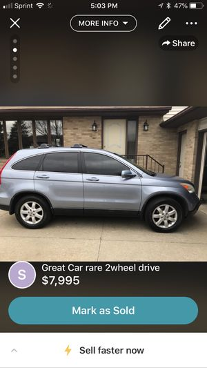 Low miles rare 2wd leather loaded over 7 inch back up camera navigation heated seats moonroof and more! for Sale in Akron, OH