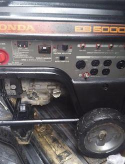 Honda EB-5000X for Sale in Lynnwood,  WA