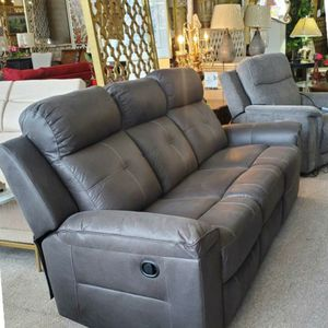 Gray Reclining Sofa for Sale in Portland, OR