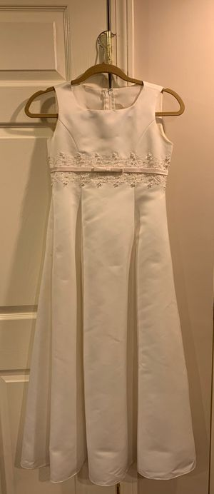 DAVID'S BRIDAL Flower Girl/First Communion Dress for Sale in Waltham, MA