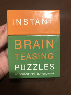 Instant Brain Teasing Puzzles Game for Sale in Hanford, CA