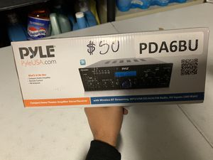 Pyle Amplifier Stereo Receiver for Sale in Las Vegas, NV