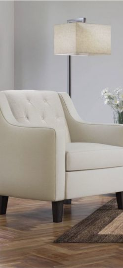 Nina tufted accent chair cream - serta for Sale in Las Vegas,  NV
