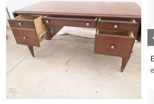Ethan Allen Solid Wood Desk for Sale in Lumberport, WV