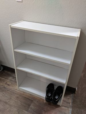 White bookshelf for Sale in Lynnwood, WA