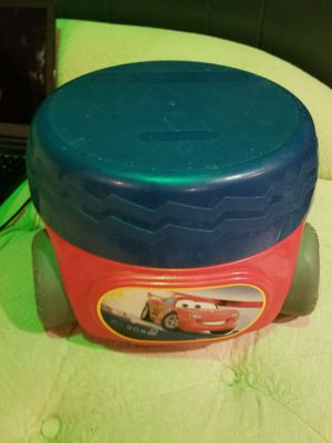 Cars potty seat /step stool for Sale in Columbus, OH