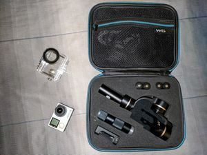 GoPro Hero 4 with Feiyu Tech Gimbal and accessories for Sale in Arlington, TX