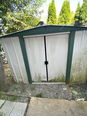 Free aluminum shed for Sale in Gresham, OR