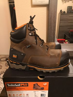 Brand new timberlands pro composite toe size 10 for Sale in Riverside, CA