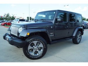 2016 Jeep Wrangler Unlimited for Sale in Arlington, TX