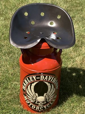 Harley Davidson milk can seat for Sale in Bowling Green, OH