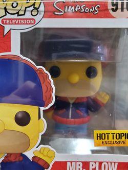 The Simpsons Mr. Plow Funko Pop for Sale in Hacienda Heights,  CA