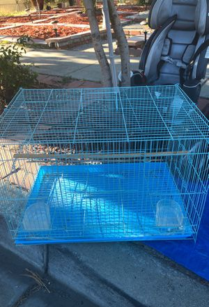 Beautiful teal bird cage for Sale in Fremont, CA