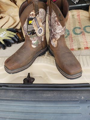 Brazos work force steel toe boots for Sale in Houston, TX