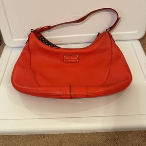 Red-orange Kate Spade Hobo Bag for Sale in Milwaukie, OR