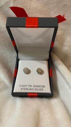 Diamond earrings for Sale in Tacoma, WA