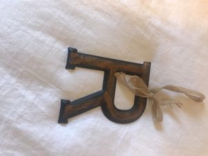 Metal Letter R for Sale in Austin, TX