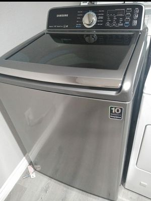 Samsung Washer King Sz Capacity Works Good for Sale in Homeland, CA