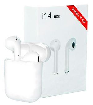 i14 TWS earbuds wireless headphones for iphones and android for Sale in Lewisville, TX
