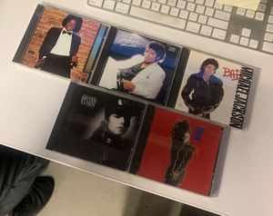 Micheal Jackson and Janet Jackson CD (good condition) for Sale in Norwalk, CA