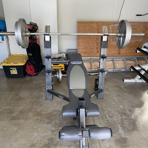 Weight Bench, Weight and Rack for Sale in Temecula, CA